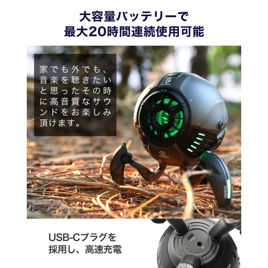 Gravastar G1 メタルグレー ポータブルワイヤレススピーカー 球体ロボット型スピーカー Bluetoothスピーカー akindoyamaru 04
