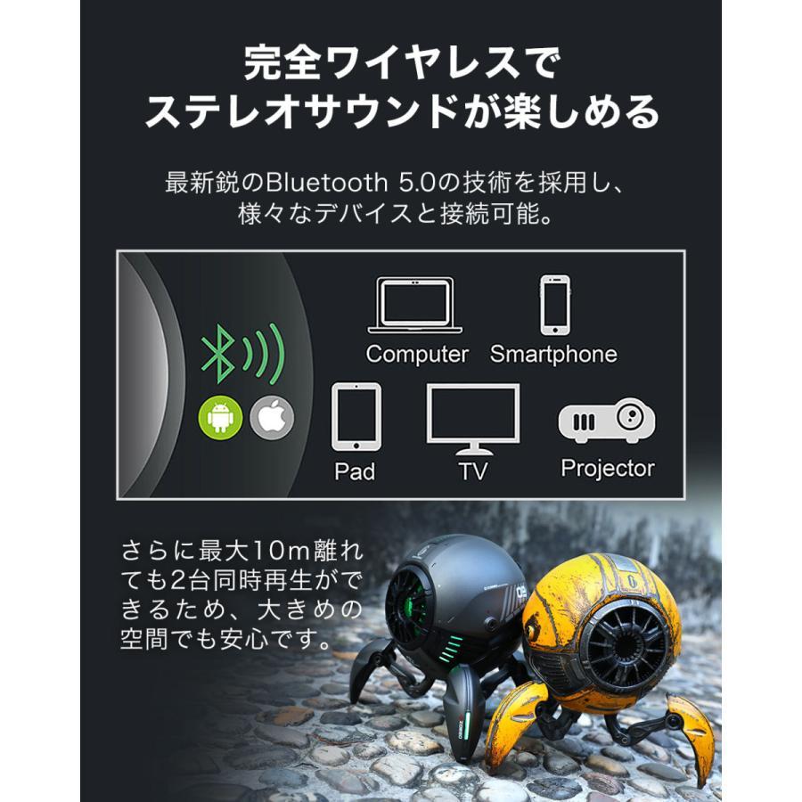 Gravastar G1 メタルグレー ポータブルワイヤレススピーカー 球体ロボット型スピーカー Bluetoothスピーカー akindoyamaru 06