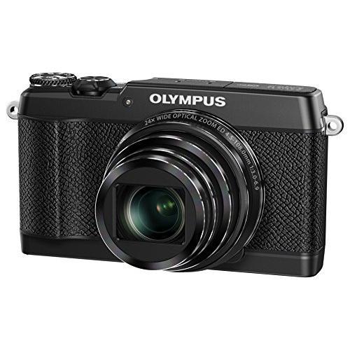 OLYMPUS コンパクトデジタルカメラ STYLUS SH-3 ブラック 光学式5軸手ぶれ補正 光学24倍&超解像48倍ズーム SH-3