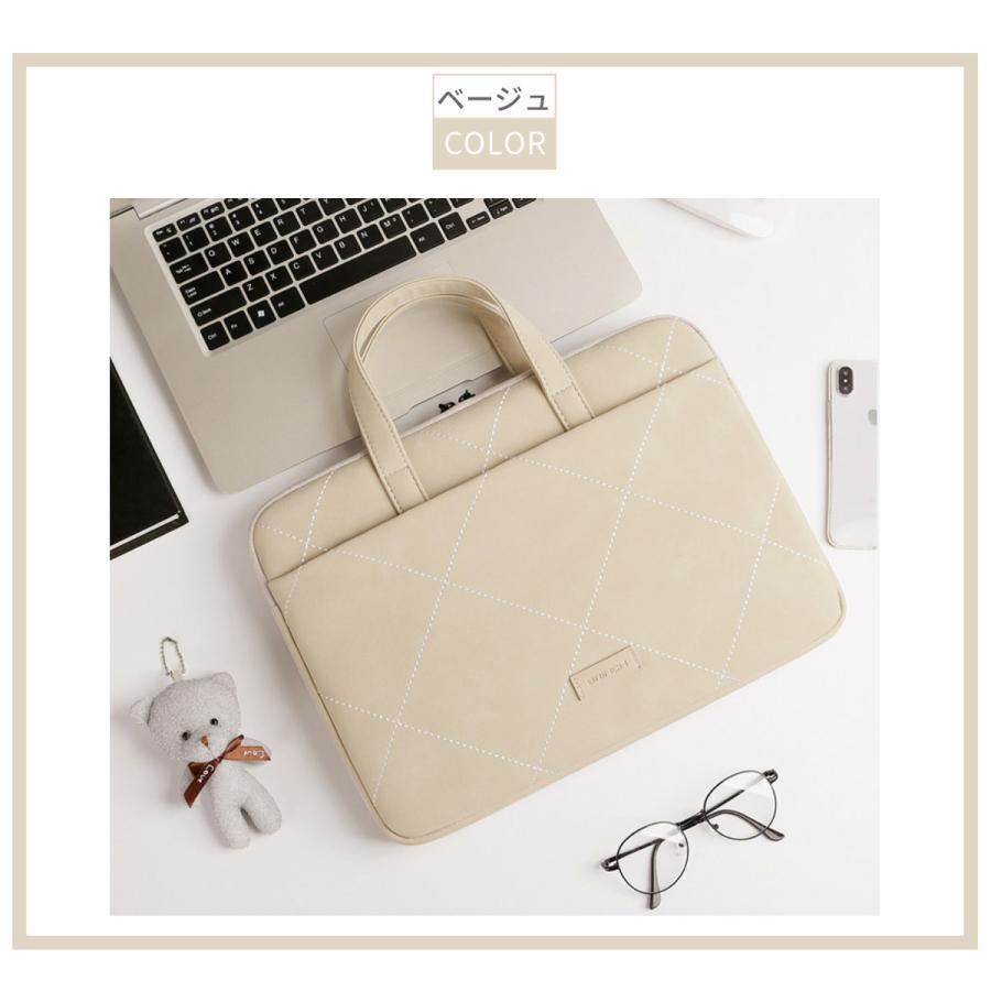 パソコンバッグ パソコンケース ノートパソコン ケース PCケース PCバッグ おしゃれ 女性 子供 13 14 15 16 インチ 防水 軽量 Macbook ノートpc akitou-net 12