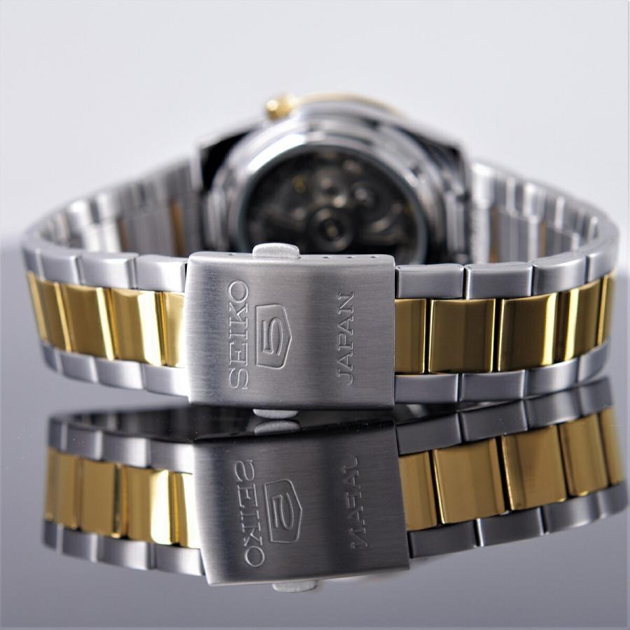 """セイコー5 SEIKO 腕時計【日本製】 5気圧防水 """"SILVER x GOLD"""" 海外モデル SNKE04J1 メンズ [逆輸入品] akky-international 09"""