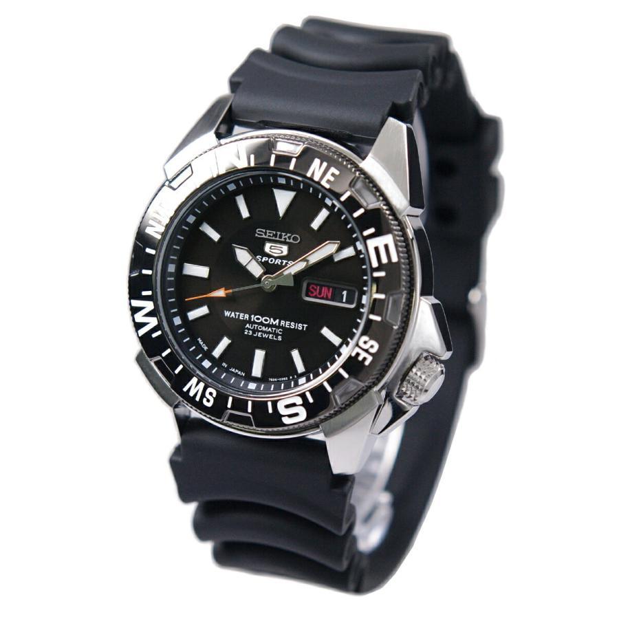 セイコー SEIKO 5 スポーツ 腕時計 日本製 ブラック テレビで話題 送料無料限定セール中 メンズ 海外モデル 自動巻き SNZE81J2 逆輸入品