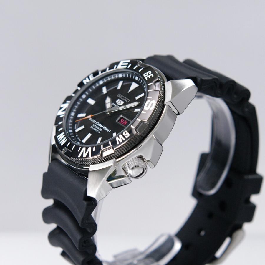 セイコー SEIKO 5 スポーツ 腕時計[日本製]海外モデル 自動巻き ブラック SNZE81J2 メンズ [逆輸入品] akky-international 02