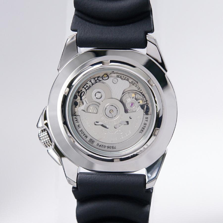 セイコー SEIKO 5 スポーツ 腕時計[日本製]海外モデル 自動巻き ブラック SNZE81J2 メンズ [逆輸入品] akky-international 05