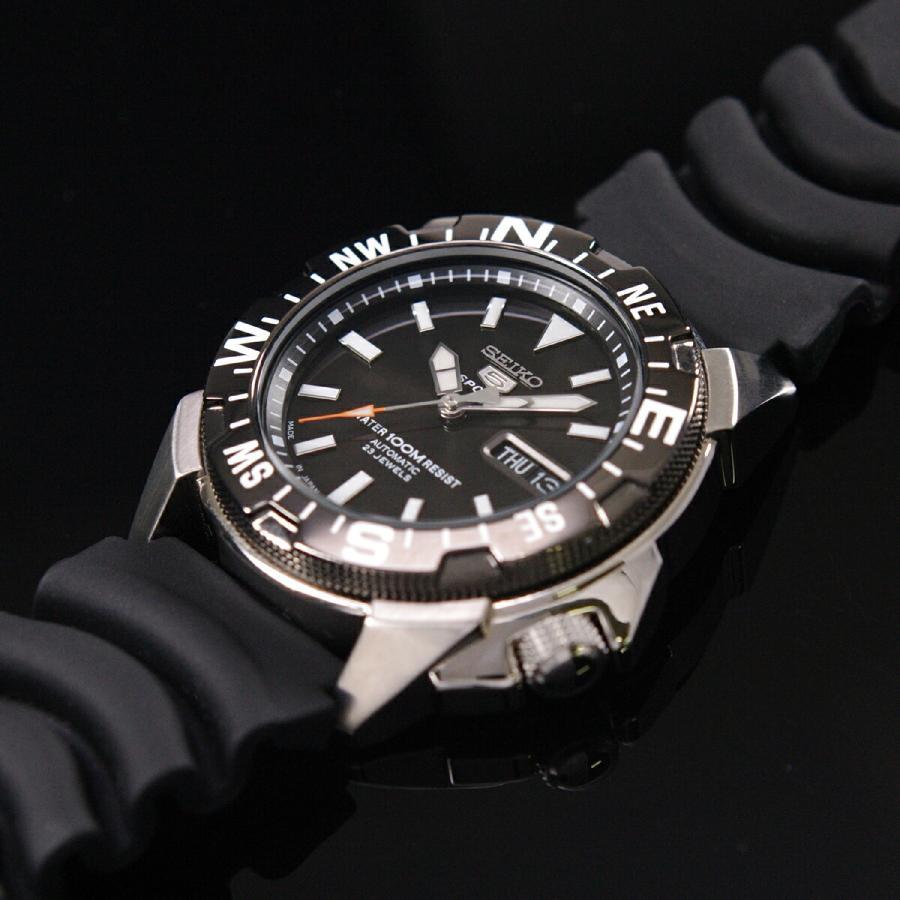 セイコー SEIKO 5 スポーツ 腕時計[日本製]海外モデル 自動巻き ブラック SNZE81J2 メンズ [逆輸入品] akky-international 08