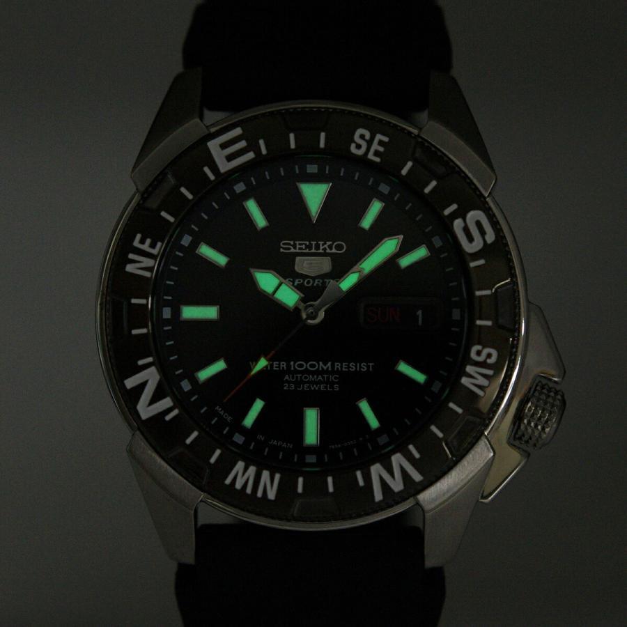セイコー SEIKO 5 スポーツ 腕時計[日本製]海外モデル 自動巻き ブラック SNZE81J2 メンズ [逆輸入品] akky-international 09