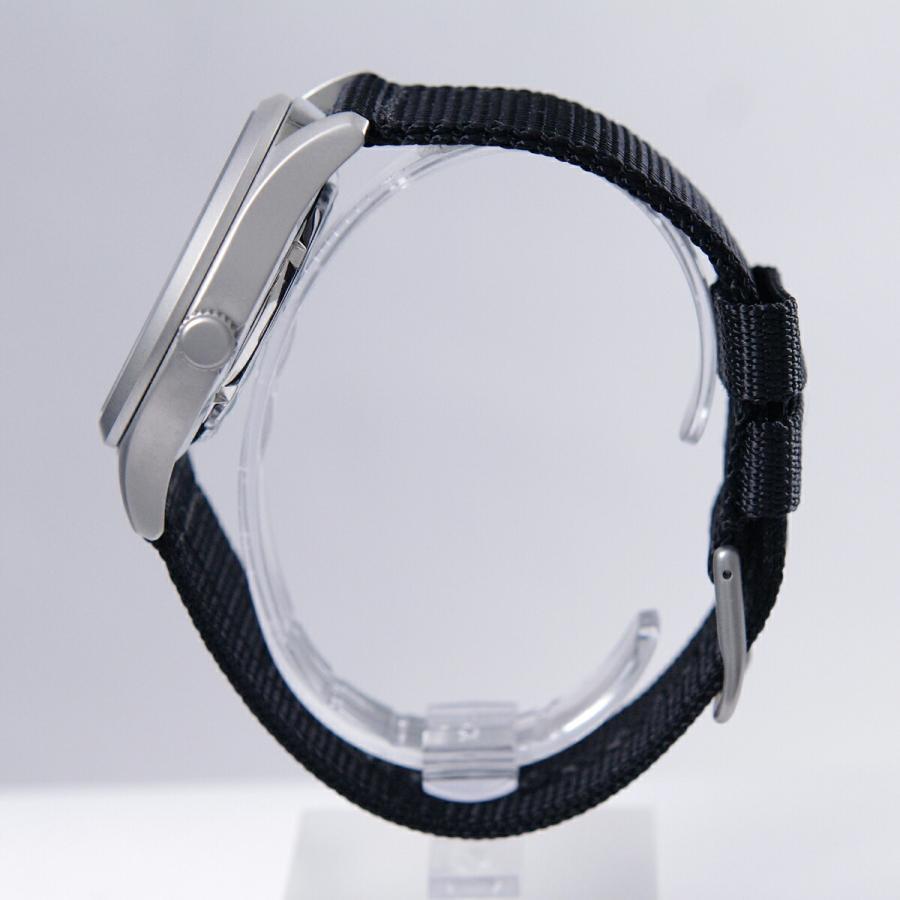 セイコー SEIKO 5 SPORTS【日本製】腕時計 海外モデル 自動巻き ミリタリー ブラック SNZG15J1 メンズ [逆輸入品]|akky-international|04