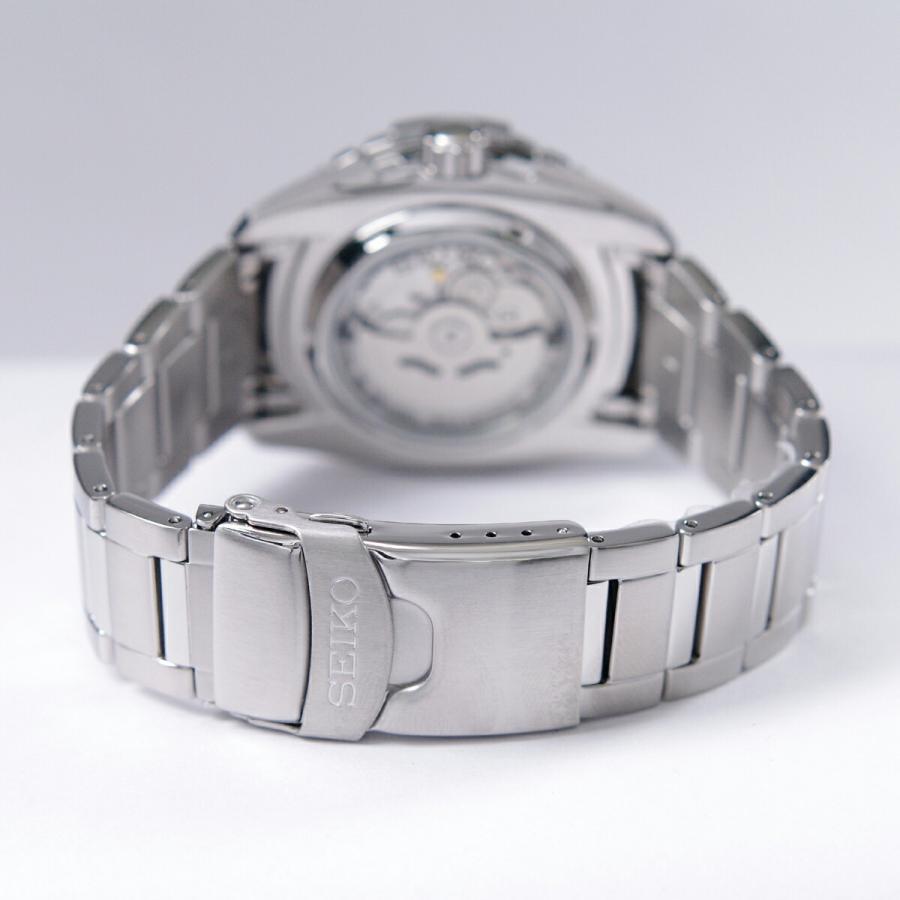 セイコー SEIKO 5 SPORTS【日本製】腕時計 海外モデル 自動巻き ブラック文字盤 SNZJ05J1 メンズ [逆輸入品]|akky-international|05
