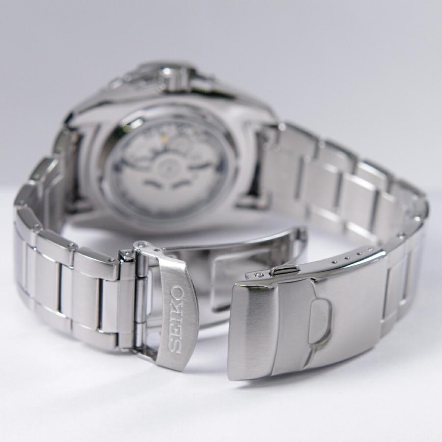 セイコー SEIKO 5 SPORTS【日本製】腕時計 海外モデル 自動巻き ブラック文字盤 SNZJ05J1 メンズ [逆輸入品]|akky-international|07