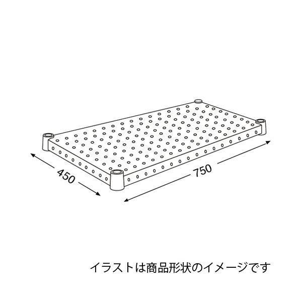 オフィス家具 | エレクター パンチングシェルフ H1830PS1