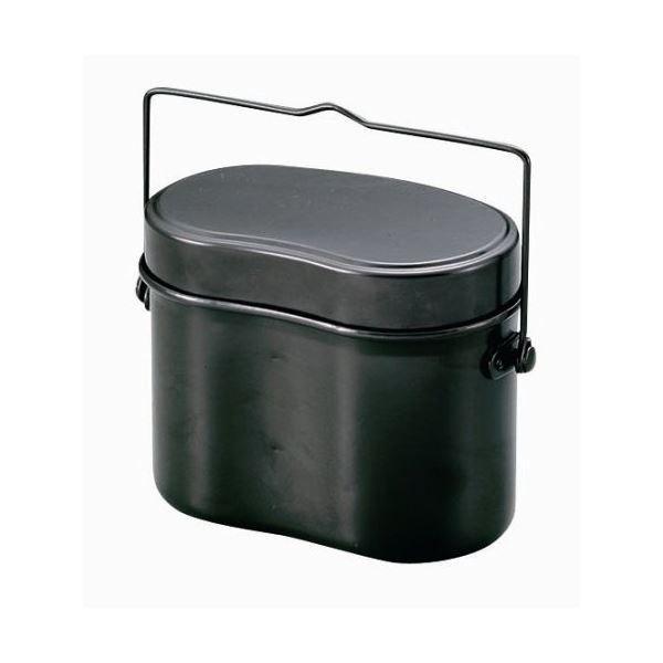 林間飯盒/飯ごう (兵式 4合炊き) 2合炊き・4合炊き用水量線付き 『キャプテンスタッグ/CAPTAIN STAG』|aks