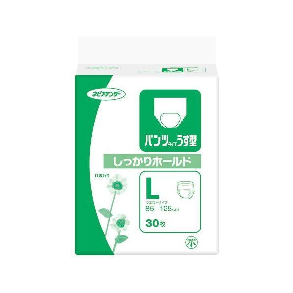 【お買い得!】   パンツタイプうす型しっかりホールドL30枚 衛生用品 5個入 王子ネピア-介護用品