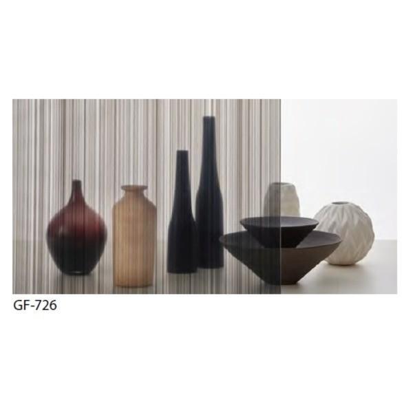 ストライプ ストライプ ストライプ 飛散防止 ガラスフィルム サンゲツ GF726 92cm巾 6m巻 883