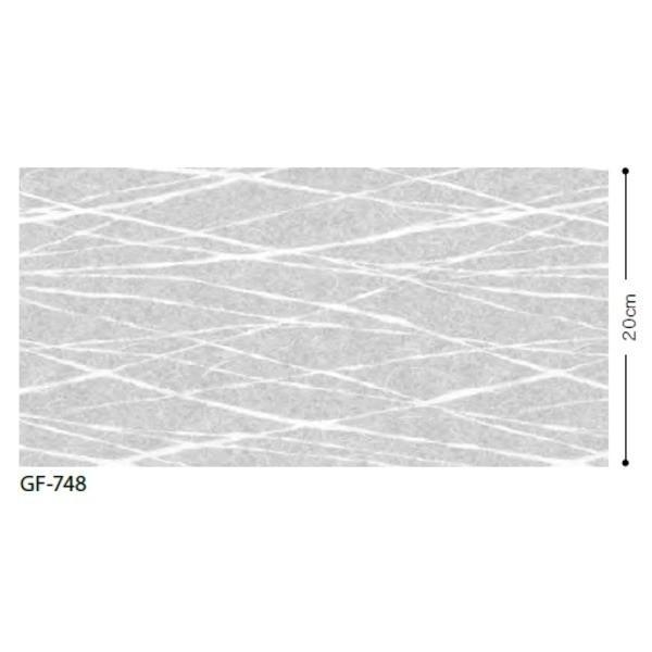 和調柄 飛散防止ガラスフィルム サンゲツ GF748 92cm巾 4m巻 4m巻