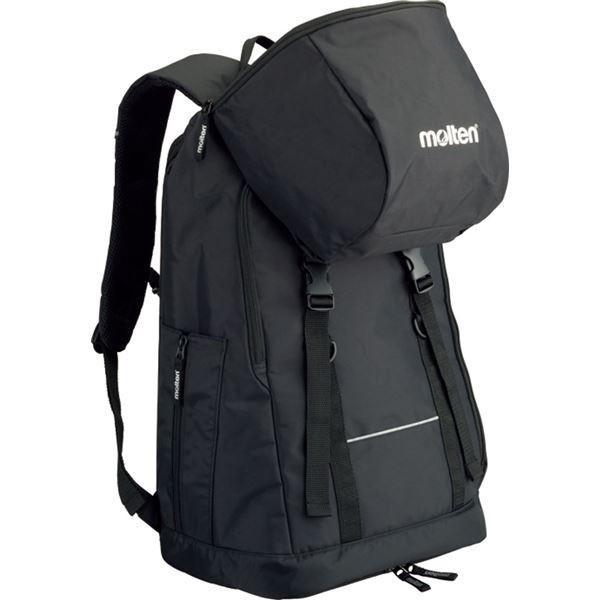 (モルテン Molten) ミニバス用 バックパック鞄 (ブラック) 容量34L 幅35cm LB0032 (運動 スポーツ用品) | スポーツ用品・スポーツウェア