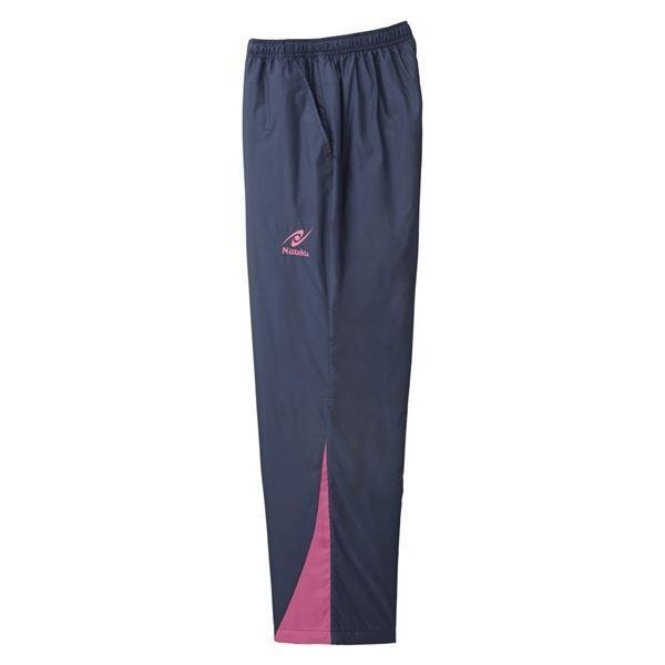卓球用品 | ニッタク(Nittaku) 卓球アパレル HOT WARMER ANV PANTS(ホットウォーマーANVパンツ)男女兼用 NW2851 ピンク L