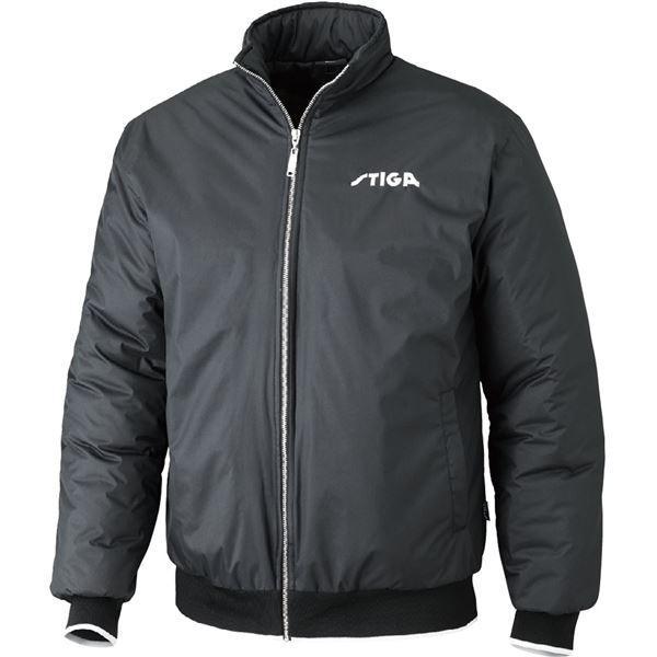 STIGA(スティガ) 卓球アウター SEASON JACKET シーズンジャケット ブラック 3XL | スポーツ用品・スポーツウェア