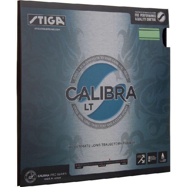 STIGA(スティガ) テンション系裏ソフトラバー CALIBRA LT(キャリブラ LT)ブラック 特厚