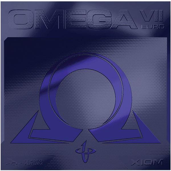 卓球用品 | XIOM(エクシオン) 裏ソフトラバー OMEGA VII EURO(オメガVII ヨーロ) 095884 レッド 2.0