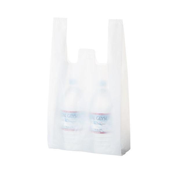 袋類 | TANOSEE 乳白レジ袋 30号ヨコ260×タテ480×マチ幅130mm 1(1000枚:100枚×10パック) (×3)