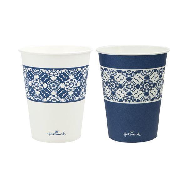 サンナップ HMクラシックブルーカップ275ml 100個(×10) | レジャー用食器・料理用品