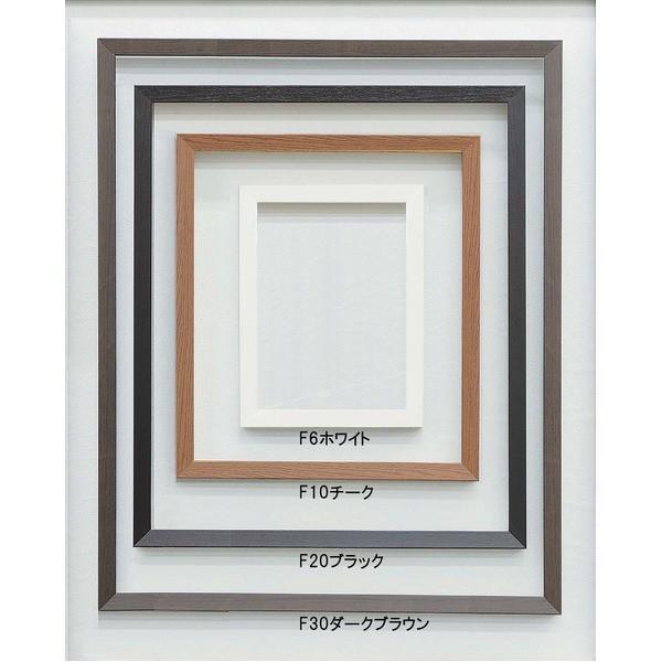 (仮縁油絵額)高級仮縁・キャンバス額・安価油絵額 木製仮縁P15(652×500mm)ホワイト | インテリア・家具