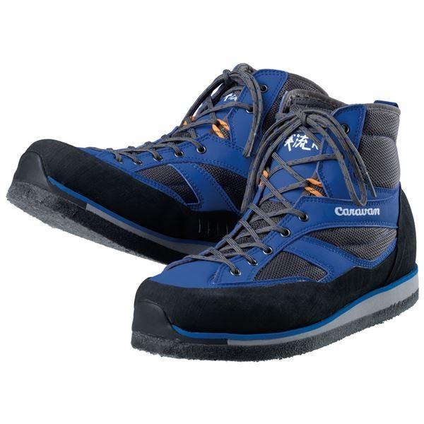渓流(ケイリュウ) KR_3XF シューズ 23.5cm ブルー | スポーツ用品・スポーツウェア