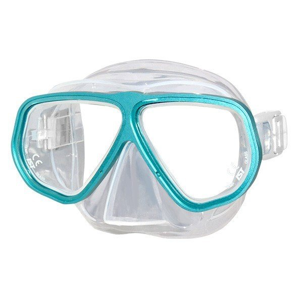 ダイビングマスク (T ターコイズブルー) 2眼型 大人用 メンズ レディース 『PANORAMA IST PROLINE M100』