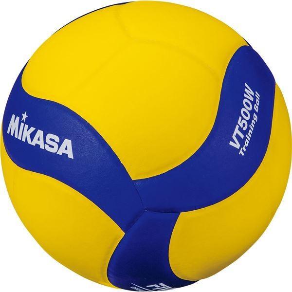 MIKASA(ミカサ)バレーボール トレーニングボール5号球 500g(VT500W)   スポーツ用品・スポーツウェア