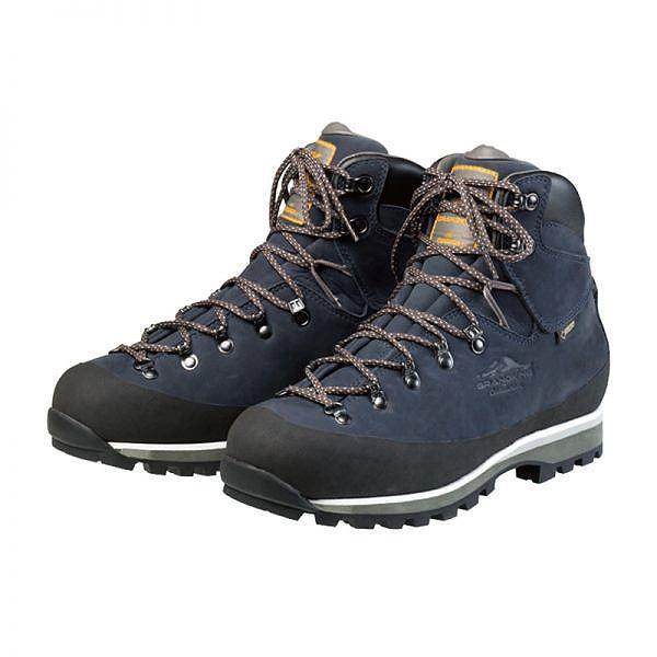 トレッキングシューズ登山靴 (ネイビー 26.0cm) ゴアテックス ビブラムソール 『GRANDKING グランドキング GK85』   スポーツ・レジャー