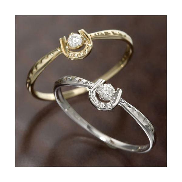 【新作入荷!!】 K10馬蹄ダイヤリング 指輪 指輪 イエローゴールド 15号 | | 15号 ダイヤモンド, ビバイシ:d31d5b16 --- taxreliefcentral.com
