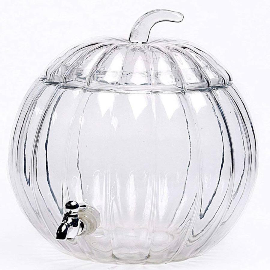 飲料水サーバー ビバレッジディスペンサー ドリンクディスペンサー パンプキン 飲料サーバー 約7.2L カボチャ型 ハロウィン Pumpkin Beverage Dispenser|akt8|02