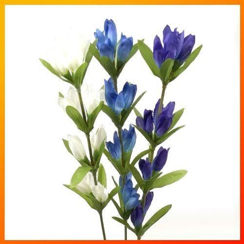 夏 秋の造花 リンドウ りんどう 竜胆 990008 海外 FS-8236 期間限定の激安セール