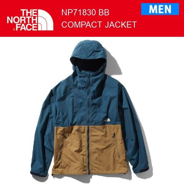 19fw ノースフェイス コンパクトジャケット メンズ CompactJacket NP71830 カラー BB THE NORTH FACE 正規品