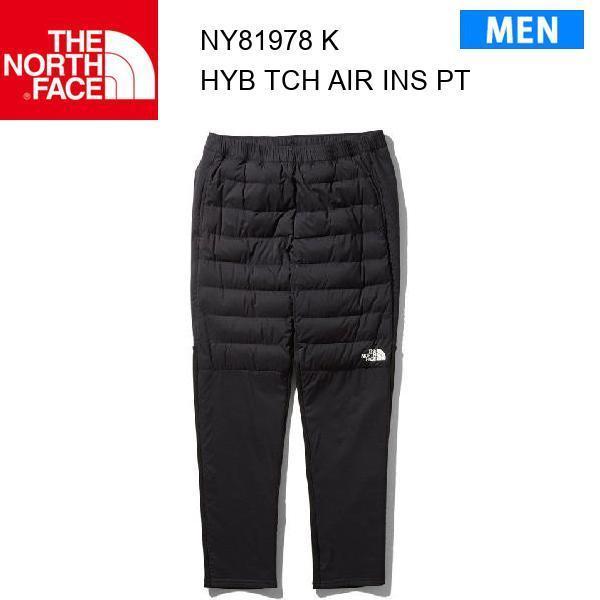 19fw ノースフェイス ハイブリッド テックエアー インサレーテッドパンツ メンズ HybridTechAirInsulatedpants NY81978 カラー K THE NORTH FACE 正規品