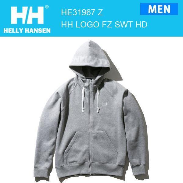 19fw ヘリーハンセン HELLYHANSEN HHロゴフルジップスウェットフーディー HHLogoFull-zipSweatHoodie HE31967 カラー Z HELLY HANSEN 正規品