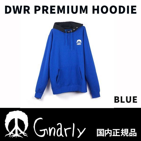 18-19 GNARLY ナーリー DWR PREMIUM HOODIE カラー青(4) 正規品