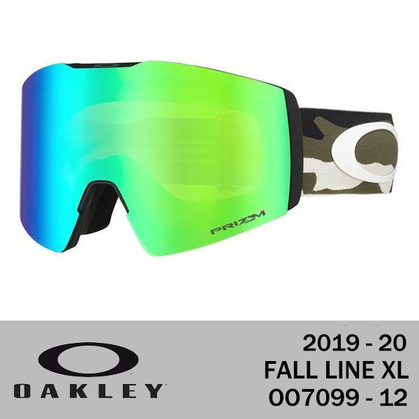 2020 OAKLEY SNOWGOGGLE 19-20 オークリー スノーゴーグル FALL LINE XL フォールライン XL OO7099-12 プリズムレンズ 送料無料 正規品