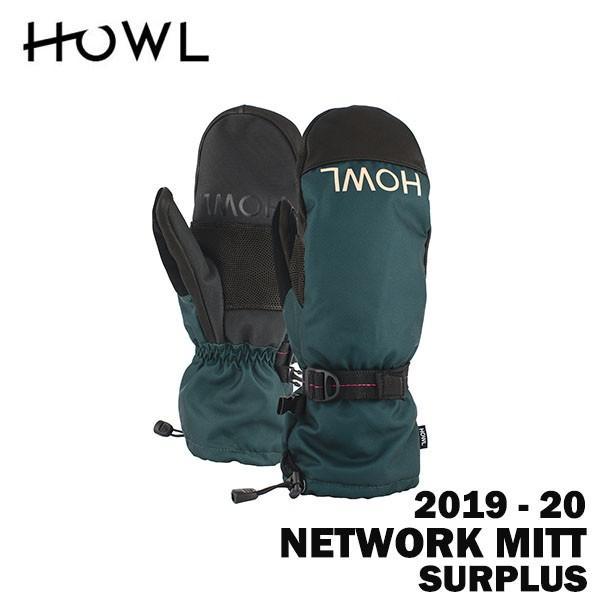 2020 19-20 HOWL ハウル スノーボード ミット NETWORK MITT カラーSURPLUS 正規品
