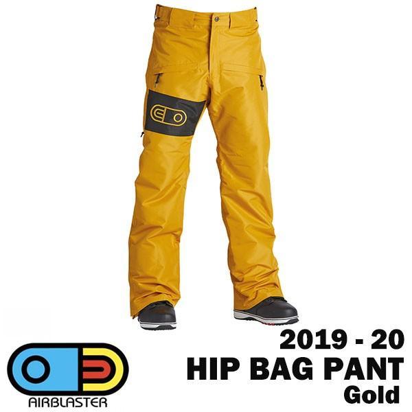 2020 AIRBLASTER 2019-20 エアブラスター ヒップバックパンツ 年間定番 HIP 正規品激安 カラーGOLD 最終価格 アウトレットセール 特集 PANT BAG