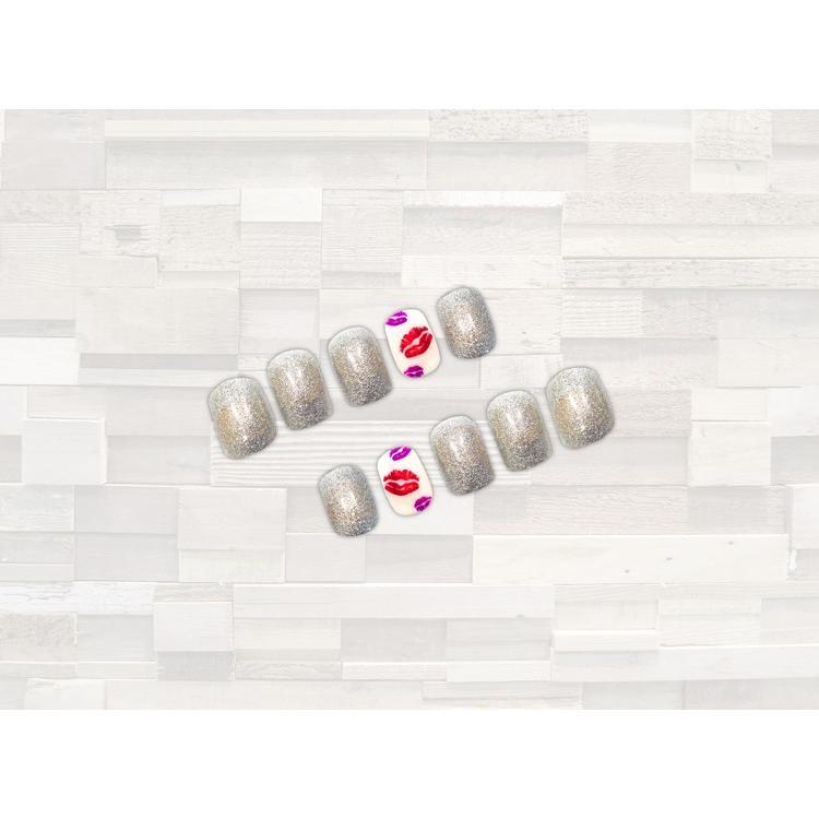 ネイルチップ リップA デザインネイル ネイルアート つけ爪 簡単 貼るだけ ネイルサロン 本格ネイル|alala-style|02