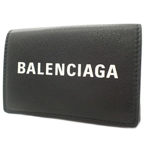 美品  バレンシアガ エブリデイミニウォレット バレンシアガ コンパクト財布 ブラック黒 カーフ ラムスキン ブラック黒 505055DLQHN1060 40800014668 505055DLQHN1060【アラモード】, オンリーWAN:b74e0bc9 --- graanic.com