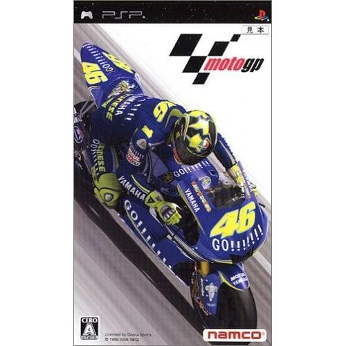 MotoGP(PSP) バンダイナムコエンターテインメント (分類:PSP ソフト)