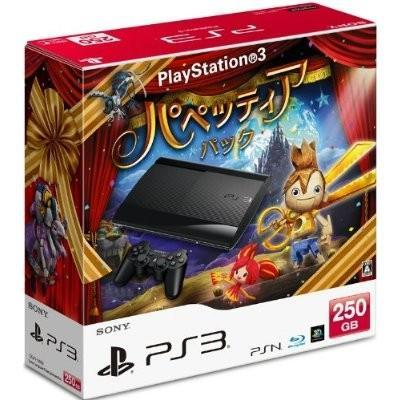 プレイステーション3 HDD 250GB パペッティア パック チャコール・ブラック CEJH-10028 SONY (分類:ゲーム機本体)