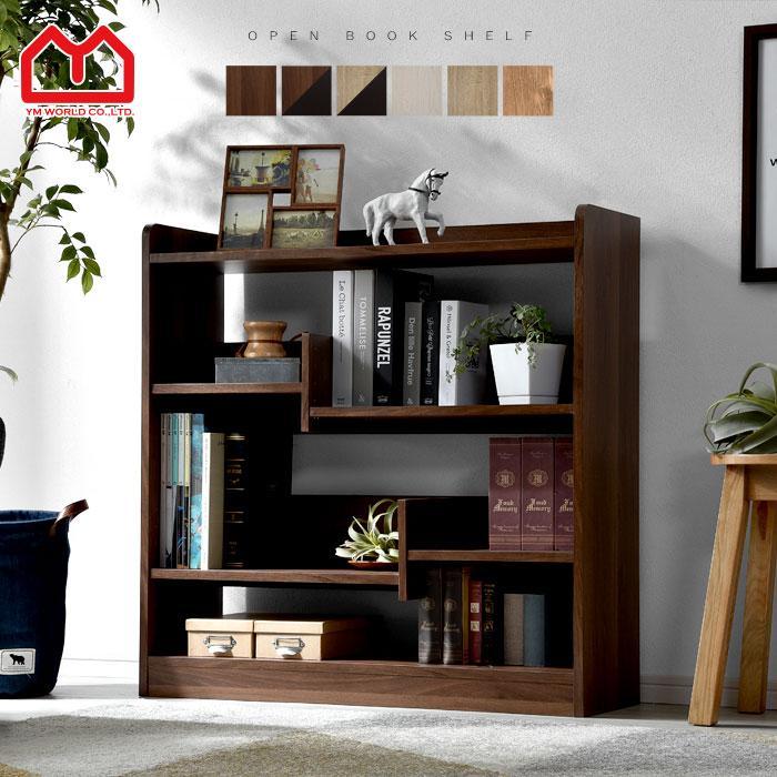 本棚 書棚 幅90 マガジンラック オープンラック ラック 収納|alberoshop