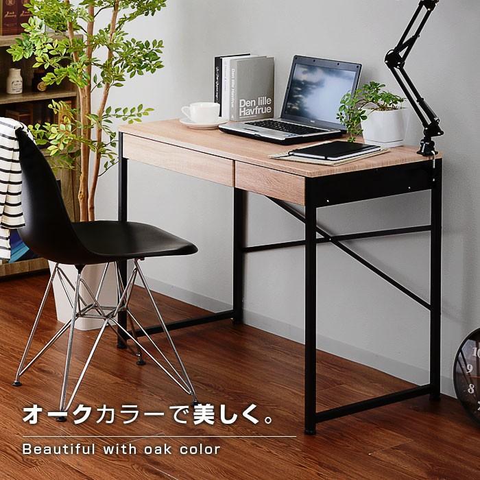 デスク パソコンデスク 幅90cm 机 学習 学習机 おしゃれ|alberoshop|11