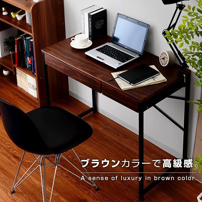デスク パソコンデスク 幅90cm 机 学習 学習机 おしゃれ|alberoshop|12