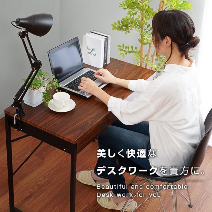 デスク パソコンデスク 幅90cm 机 学習 学習机 おしゃれ|alberoshop|14