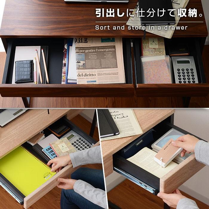 デスク パソコンデスク 幅90cm 机 学習 学習机 おしゃれ|alberoshop|08