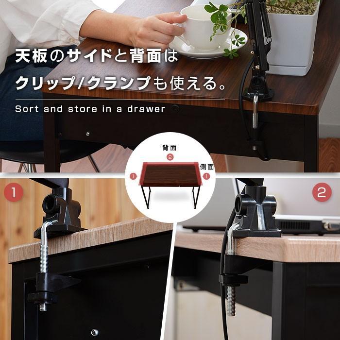 デスク パソコンデスク 幅90cm 机 学習 学習机 おしゃれ|alberoshop|10